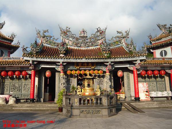 恵済宮前殿