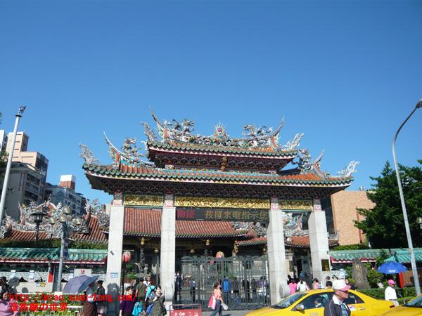 龍山寺正門
